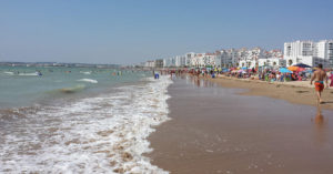 Playa de Valdelagrana. / A.C.