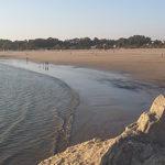 La Policía Nacional rescata a una mujer en la playa de La Puntilla