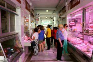 Interior del Mercado de Abastos. / P.D.