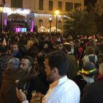 Más de 3.000 personas despidieron el año en la Plaza Isaac Peral