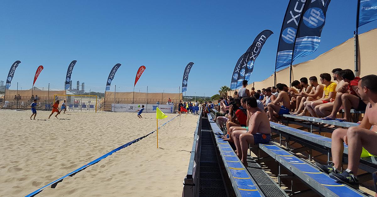 La Liga Nacional de Fútbol Playa llega este fin de semana a Valdelagrana  dd0701cbe70e2