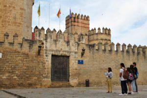 Visitando el Castillo de San Marcos.