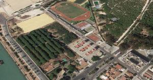 Los terrenos de La Puntilla.