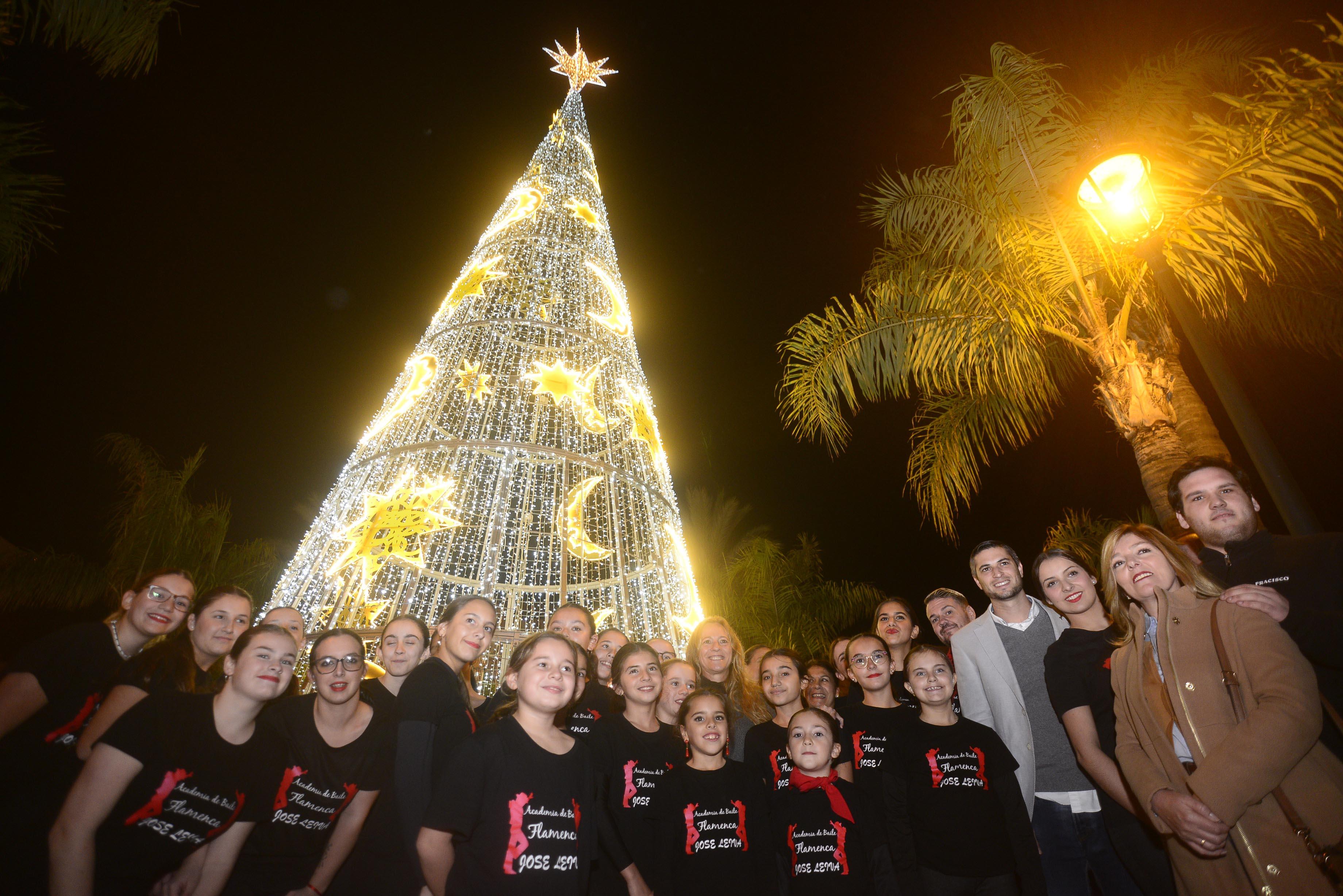 Alumbrado de Navidad en Plaza Peral_0112