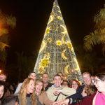 El alumbrado de Navidad se inaugura con un gran espectáculo de luces