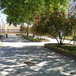 Comienzan los trabajos de reparación de la Plaza Hermano Ignacio
