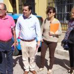 Curro Martínez visita Las Nieves, Los Romanos y Ronda de Valencia