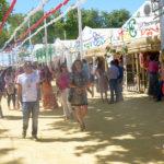 Sábado de Feria con gran ambiente en Las Banderas