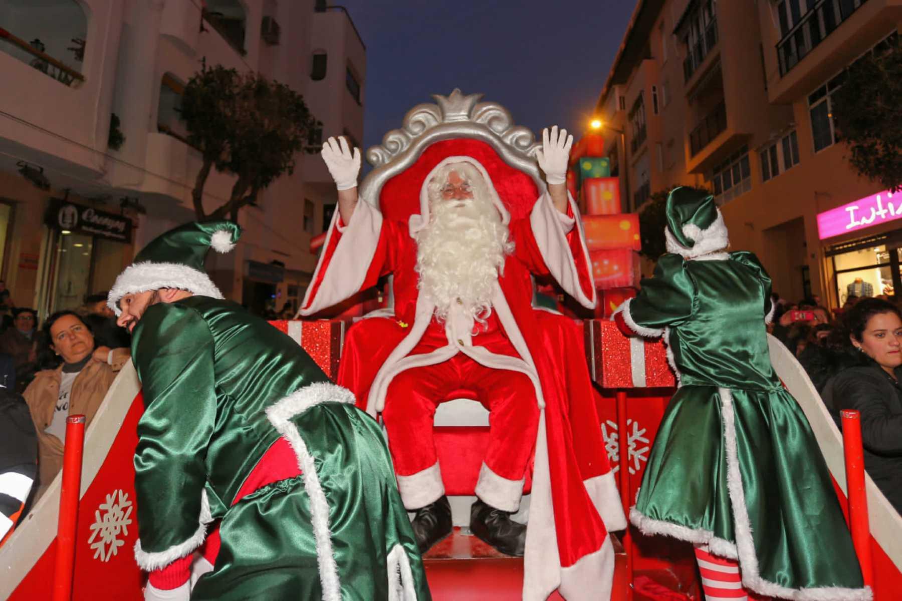 Pasacalles de Papá Noel