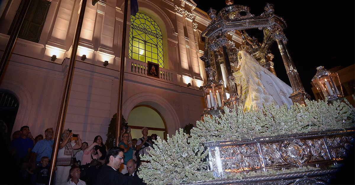 Suspendida la procesión de la Virgen de los Milagros
