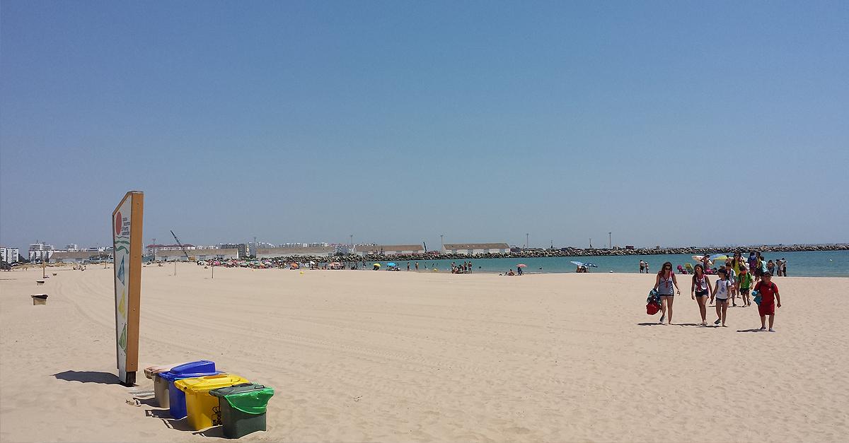Hasta 750 euros de multa a quién ensucie en las playas de El Puerto