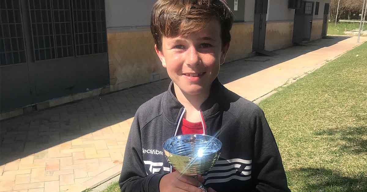 Louis D'Auzac se lleva la XIII Copa de Invierno de la Federación Andaluza de Tenis