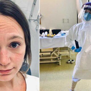 Laura, la enfermera que transmite vida entre el caos provocado por el coronavirus