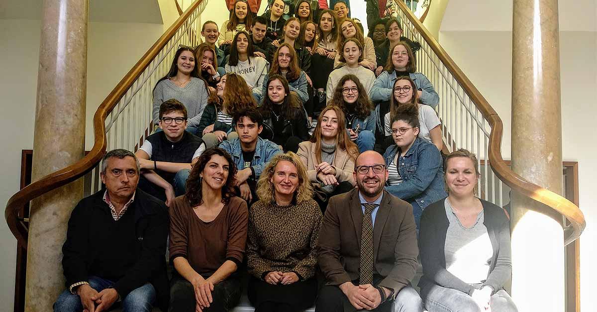 Estudiantes de intercambio franceses visitan El Puerto una semana