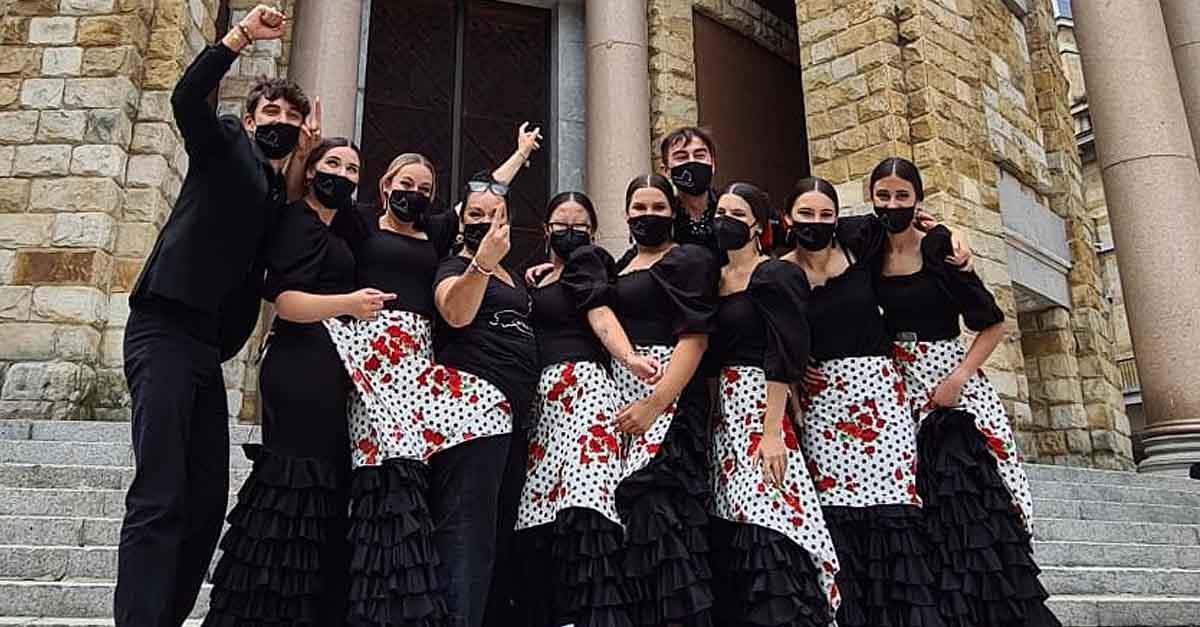 """La academia de baile de Carmen Morales, primer premio en el concurso """"Nacedanza"""""""