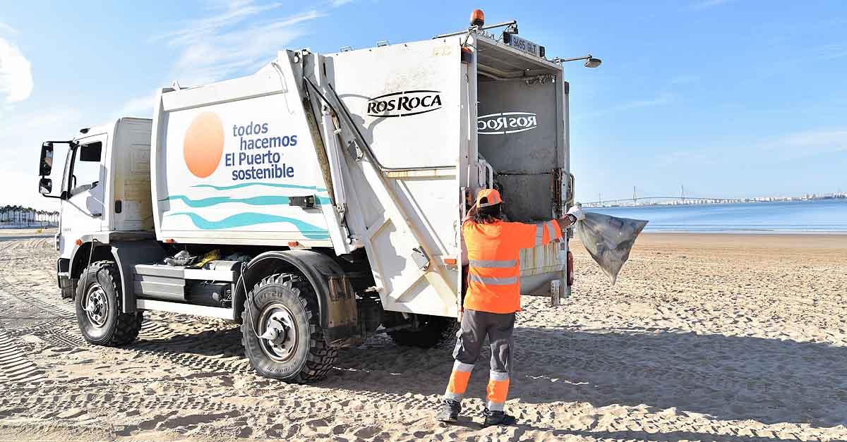 Récord histórico de reciclaje de envases en las playas de El Puerto
