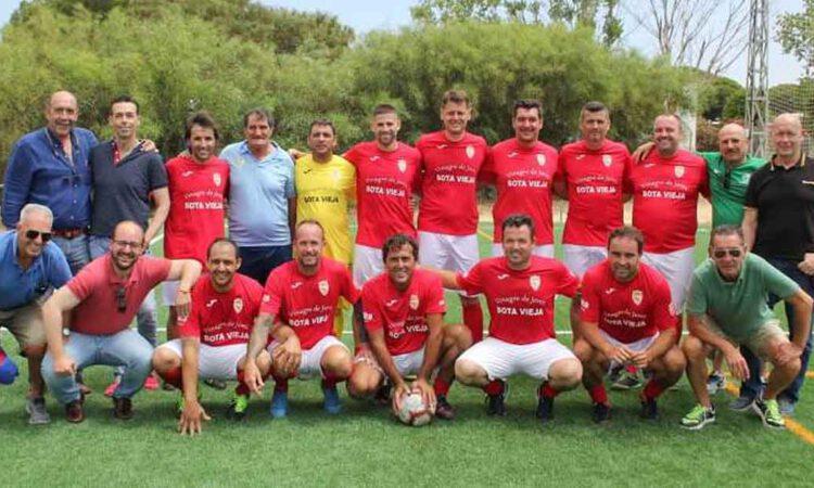 Doble cita solidaria de los veteranos del Racing Club Portuense