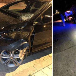 Un atropello y un aparatoso accidente dejan tres personas heridas en El Puerto
