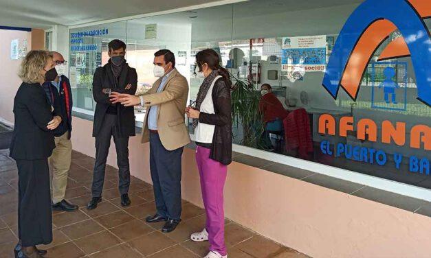 Ciudadanos visita el centro Mercedes Carbó de Afanas para apoyar la educación especial