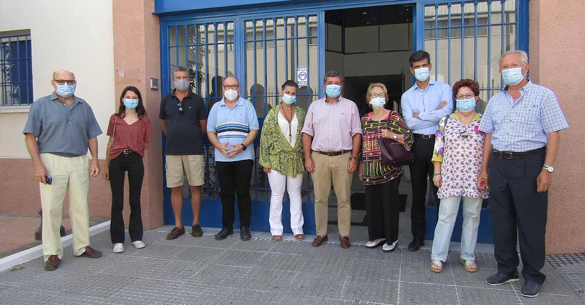 Afanas El Puerto y Bahía recibe la visita de Alfonso Candón