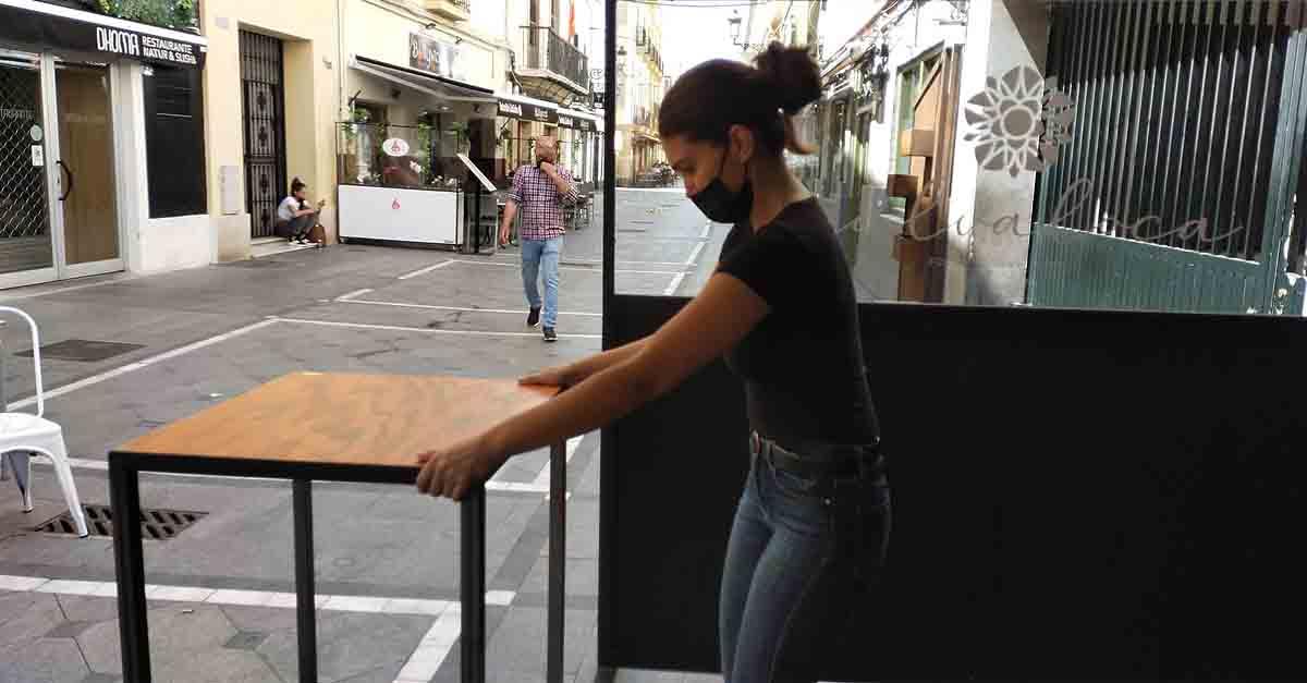La hostelería portuense se prepara para un largo fin de semana
