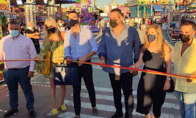 Inaugurada la Velada del Carmen en El Puerto que se celebrará hasta el 1 de agosto