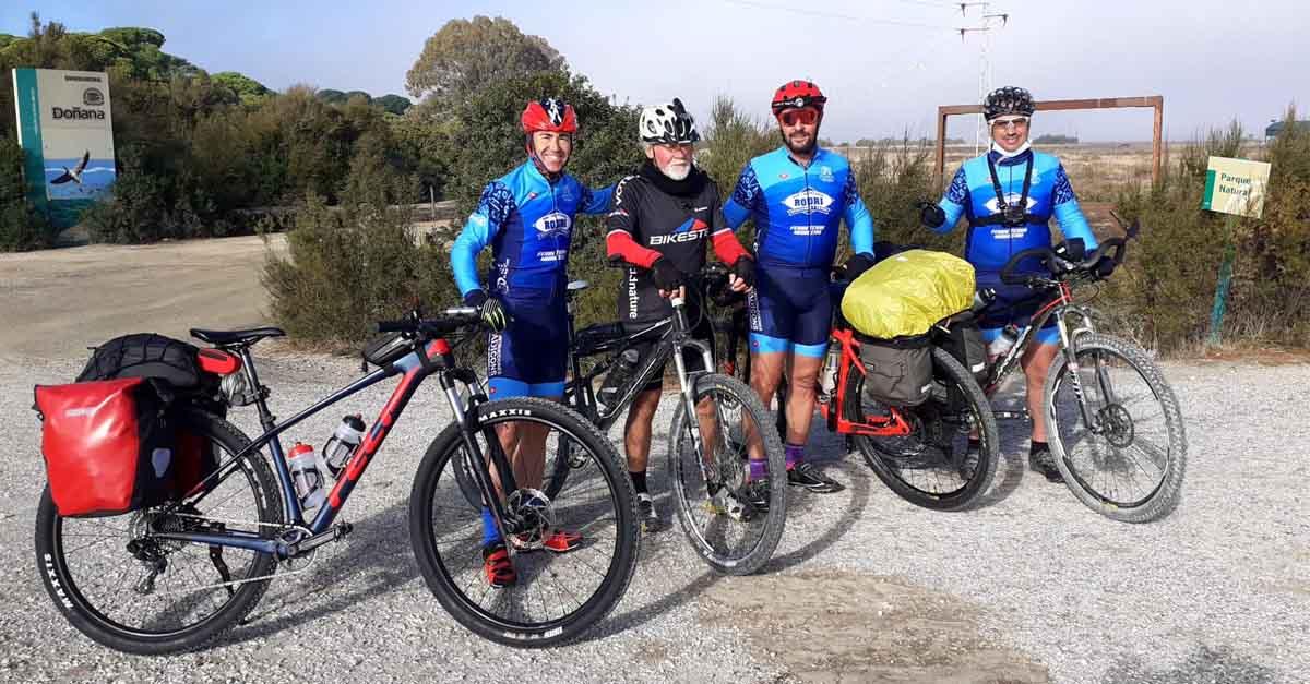 De El Puerto a Santiago en bicicleta