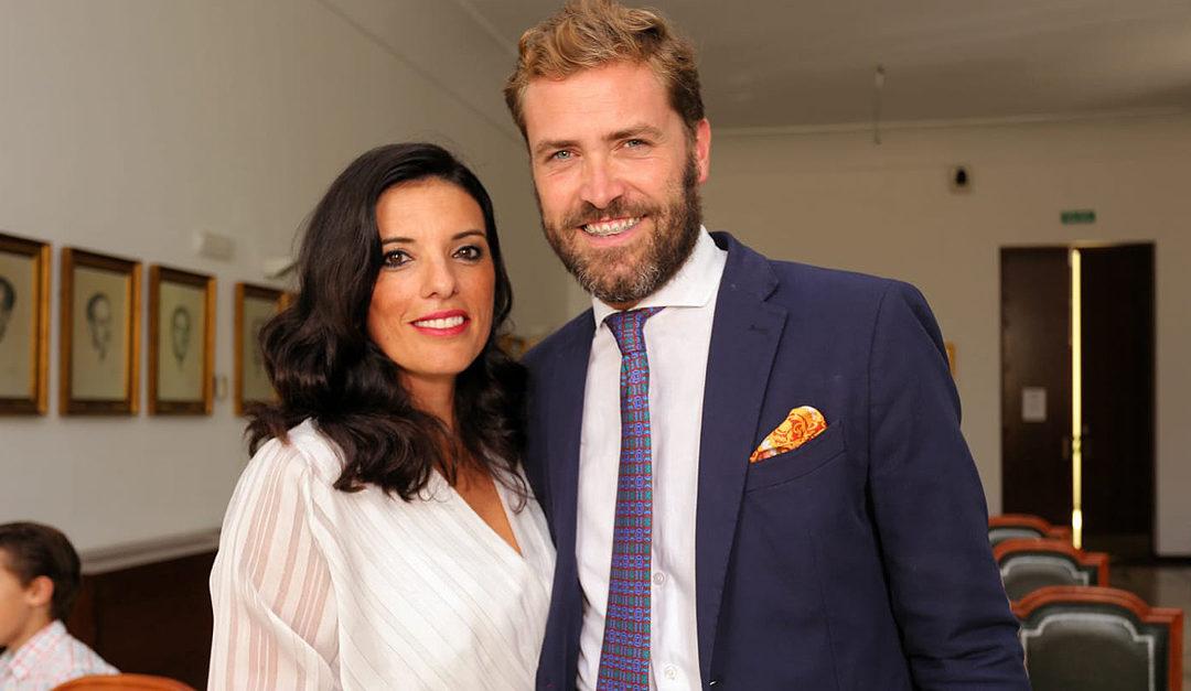 Inmaculada Bustos y Álvaro González contráen matrimonio en El Puerto