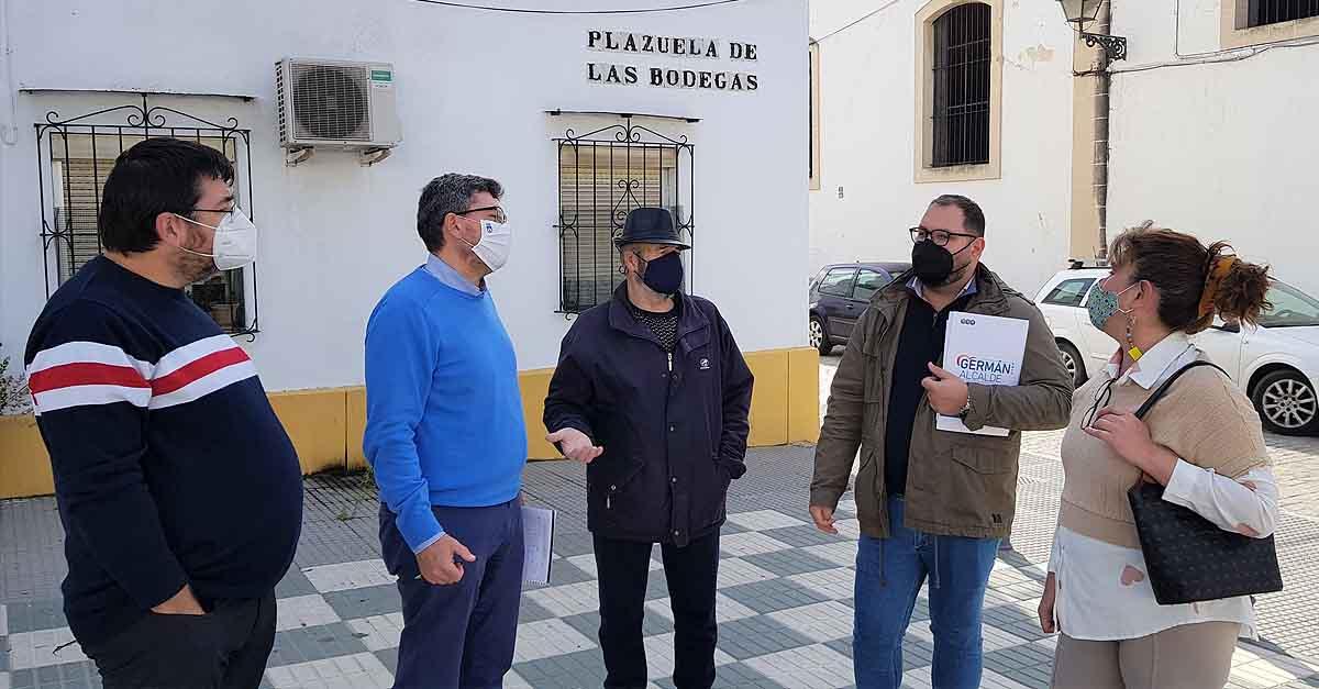 Bello visita la Asociación Vecinal Las Bodegas para conocer sus solicitudes