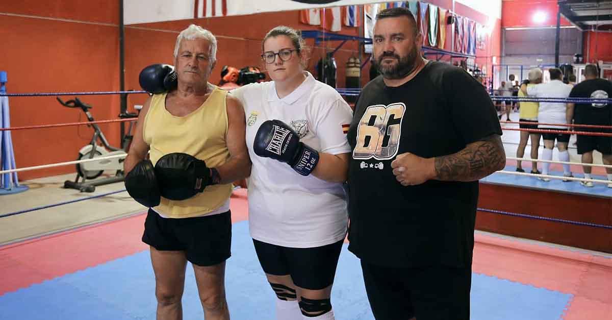 Zaira García representa a El Puerto en el Campeonato de España de Boxeo