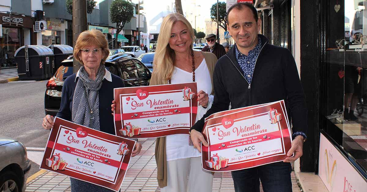 Comerciantes de Crevillet presentan su campaña de San Valentín