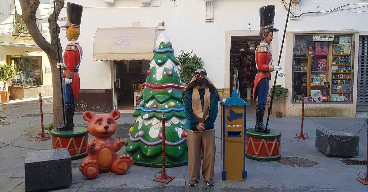 El Buzón del Cartero Real, hoy en la calle Placilla y en Valdelagrana