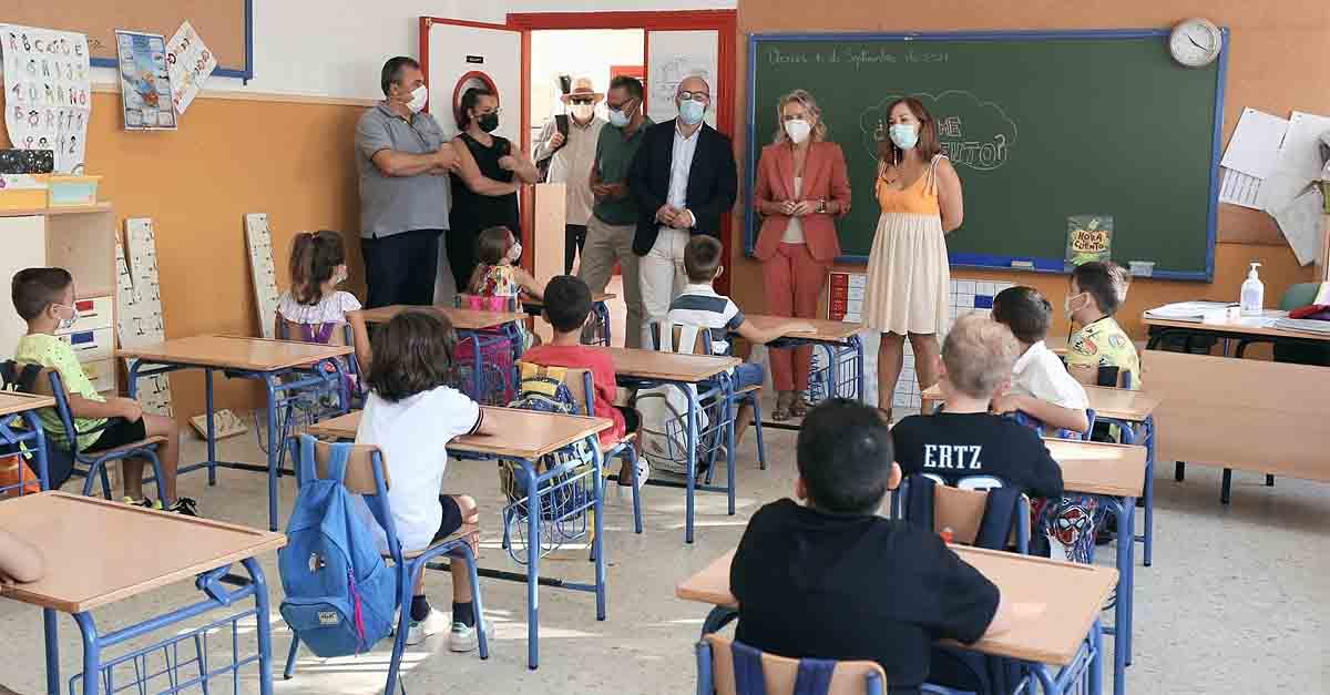 Más de 7.500 escolares de infantil y primaria comienzan sus clases en El Puerto