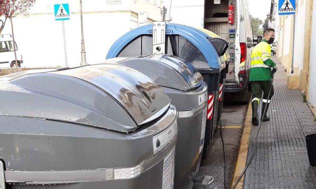 Instalados nuevos contenedores en el centro de El Puerto con mejora de la gestión de residuos urbanos