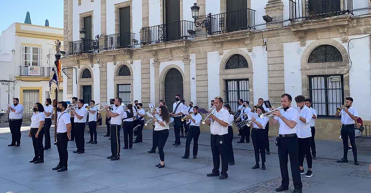 Las Bandas de la Humildad y Paciencia y Maestro Dueñas, protagonistas en el día del Corpus