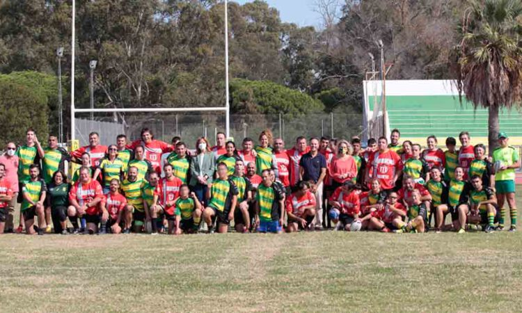El Puerto hace historia acogiendo el primer partido de rugby inclusivo de la provincia de Cádiz