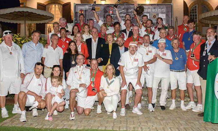 España logra en El Puerto el título del III Golf Croquet World Team Chanmpionship Tier 2