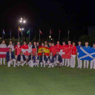 Beardo da la bienvenida a los equipos del Campeonato del Mundo por Países de Golf Croquet