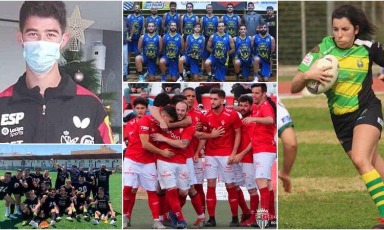 El deporte portuense triunfa en una temporada complicada marcada por la pandemia