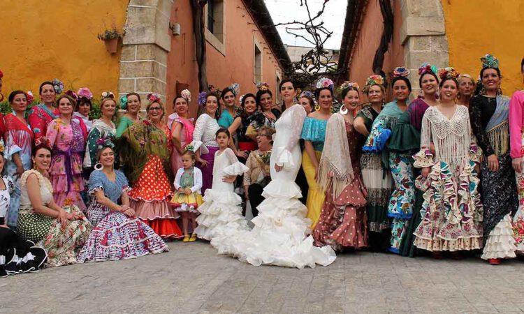 II Desfile de Moda flamenca a beneficio de Nueva Bahía