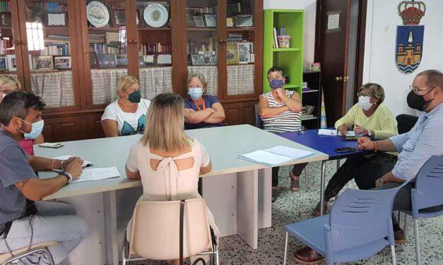 La Eracis aborda con la AAVV Sudamérica la realización de diversas actividades de dinamización