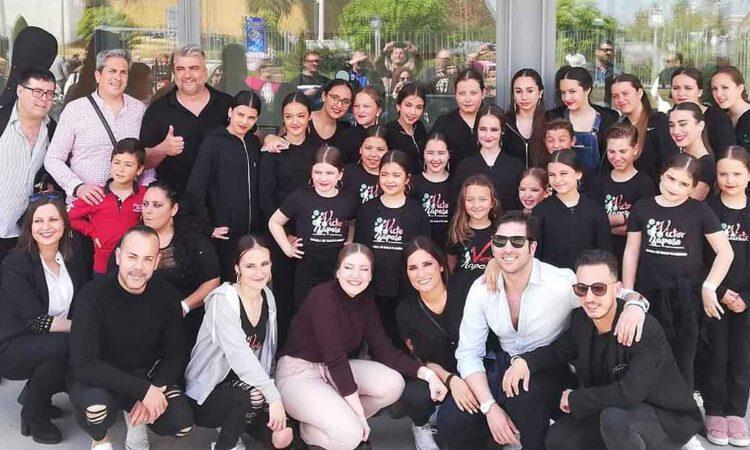 La escuela de baile Víctor Raposo participa en el Salón Nacional de Moda y Danza