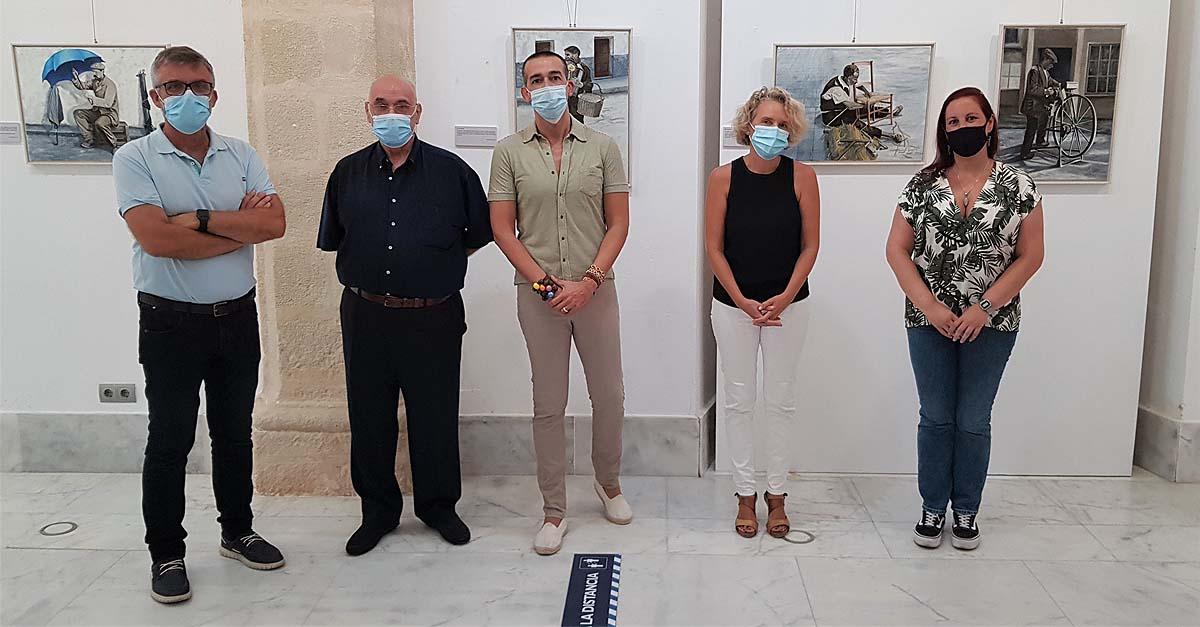 """Inaugurada la exposición pictórica """"Los oficios del pasado"""""""