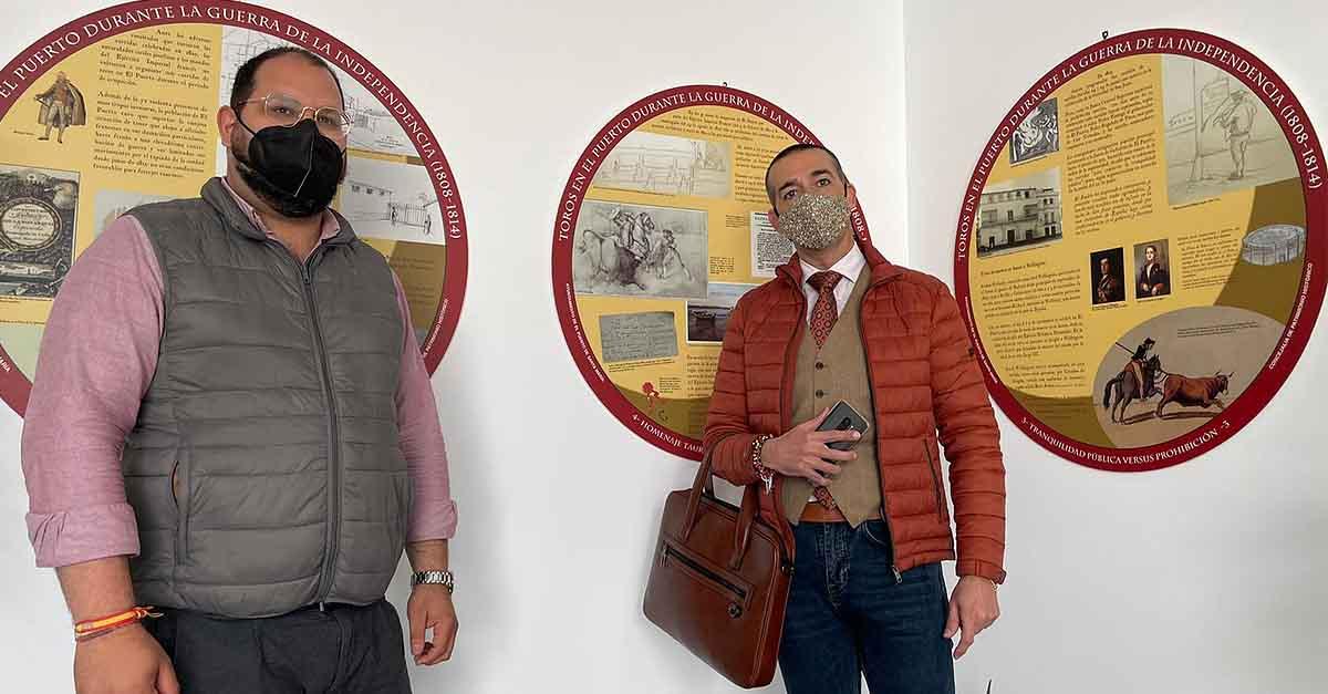 """Inaugurada en el Centro Cívico la exposición """"Toros en El Puerto durante la Guerra de la Independencia"""""""