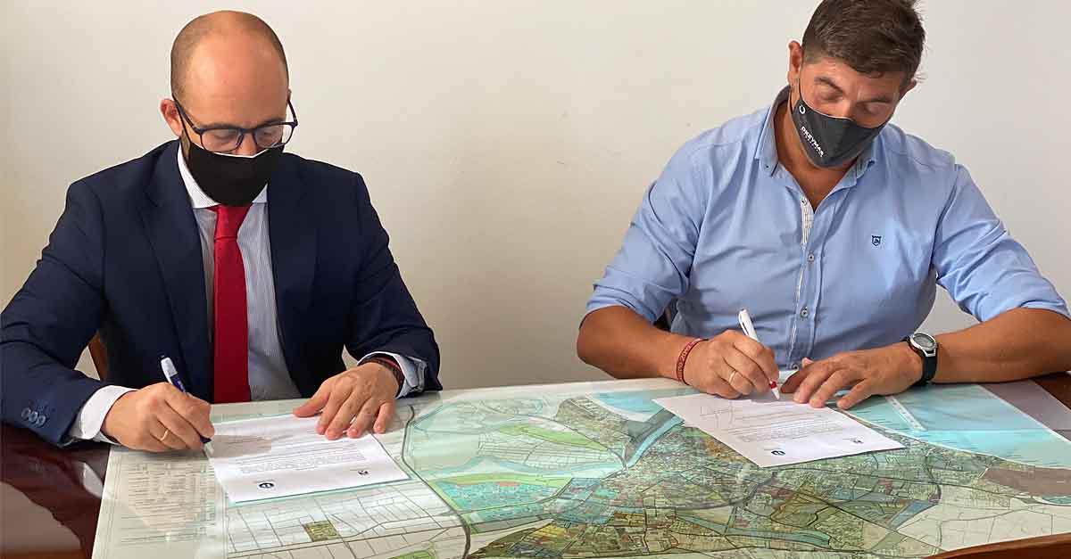 Renovado el acuerdo con Deporocio para conceder 10 becas a portuenses