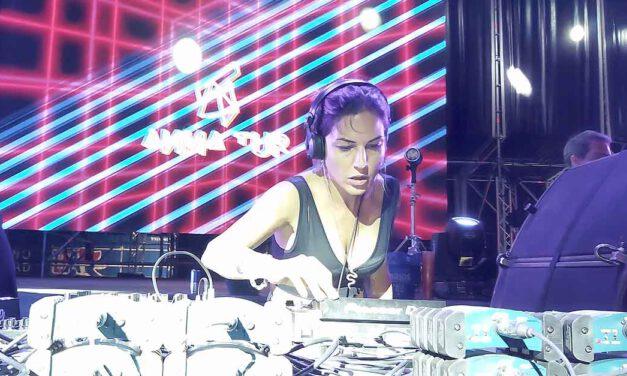 La ibicenca DJ Anna Tur