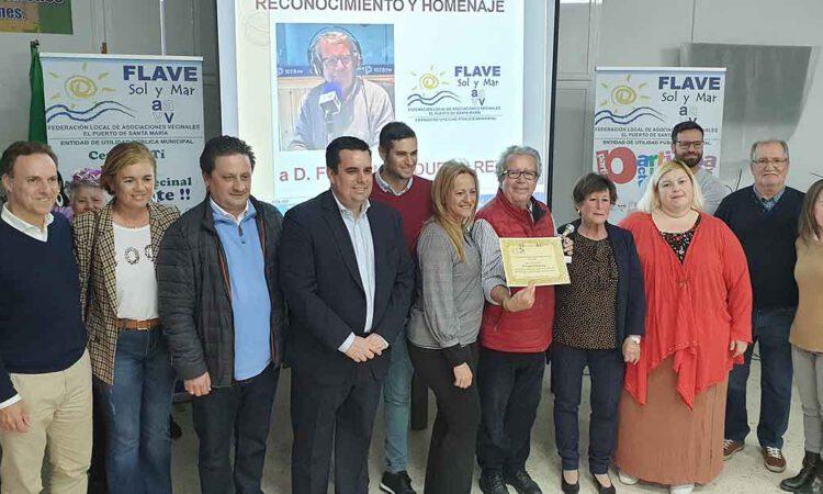La Flave homenajea a Fernando Durán por su trayectoria profesional