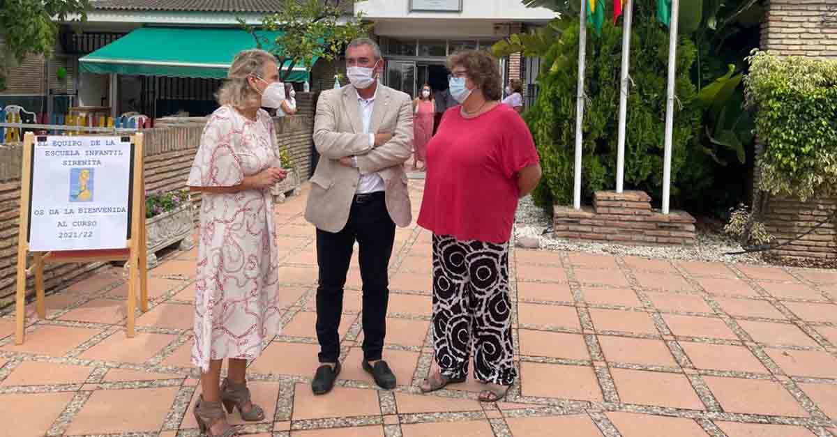 Educación inaugura en El Puerto el curso escolar 2021-2022 en La Sirenita