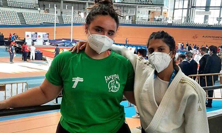 La portuense Nazaret Hernández gana la medalla de bronce en el Campeonato de España sub-21 de Judo