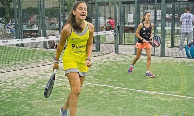 Julieta Alemán y Carlota Ruiz, campeonas de Andalucía de pádel